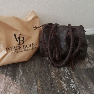 Vintage Boho Loui Vuitton